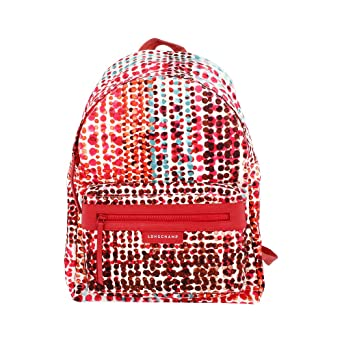 96aba4bad52b Image Unavailable. Image not available for. Color  Longchamp Le Pliage Neo  Fantaisie Ladies Medium Nylon Backpack L1119635A29