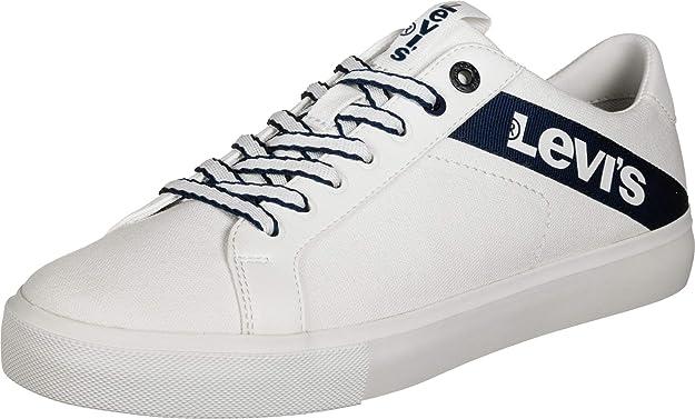 Levi's Woodward L Sneakers Weiß/Schwarz