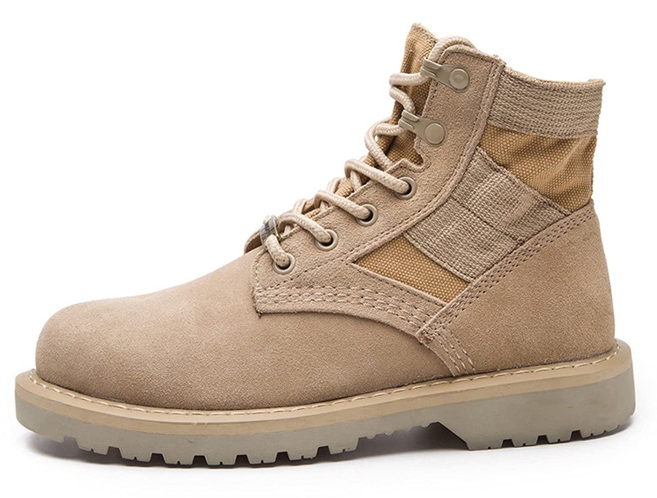 Amazon.com | Military Tactical Boots Suede Desert Army Combat Jungle Boots Lace Up Martin Boots Boots Chukka Snow Boot for Men | Chukka