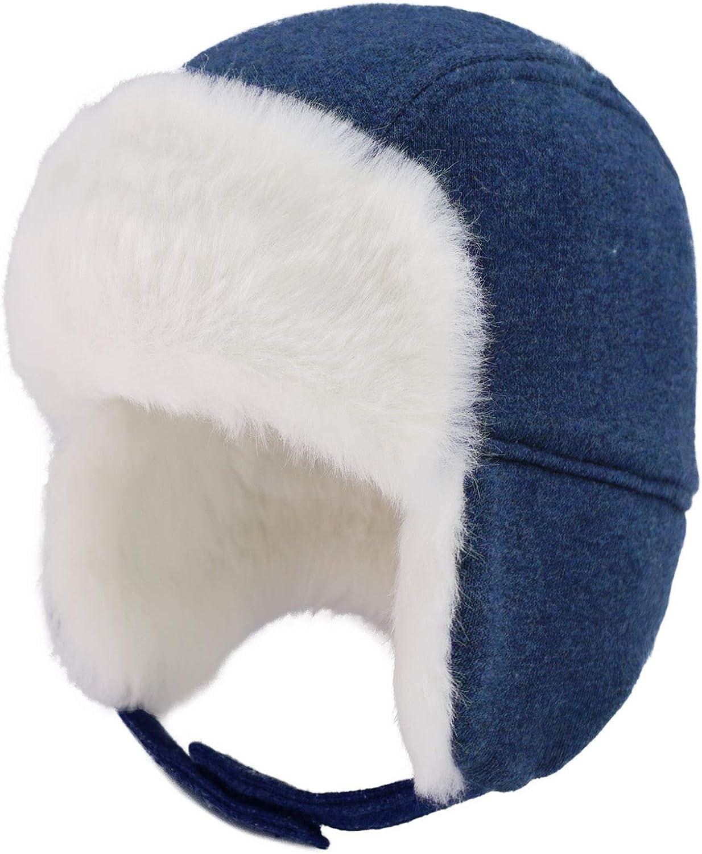 RESULT CHILDREN/'S TRAPPER HAT EAR FLAP COVER NECK WARMER SUPER WARM SOFT KIDS
