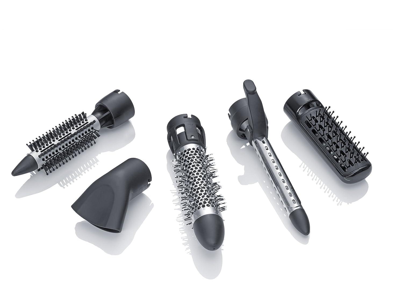 Severin 0805 - Set de moldeado (varios cabezales, 700 W), color negro/morado: Amazon.es: Salud y cuidado personal