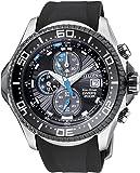 Citizen BJ2111-08E - Reloj cronógrafo de cuarzo para hombre, correa de poliuretano color negro