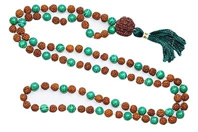 Mogul interior amor corazón Chakra collar verde Jade cuentas ...