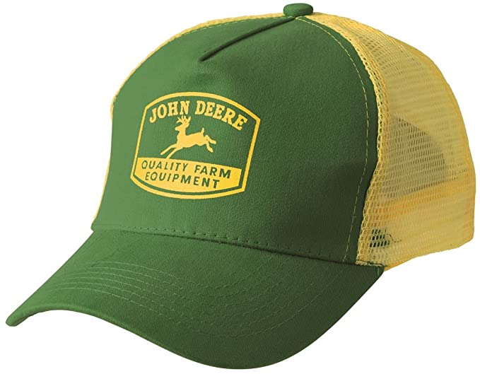 John Deere - Gorra de malla Tradition color amarillo/verde: Amazon.es: Ropa y accesorios