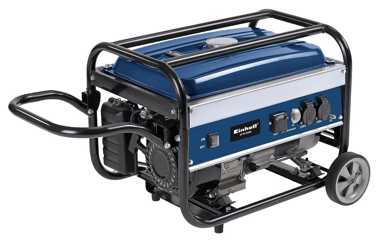 Einhell Benzin Stromerzeuger BT-PG 3100/1 (2600 W Dauerleistung, max. Leistung 4,1 kW, 208 cm³ Hubraum, 15 l Tank, 2 x 230 V Steckdose)