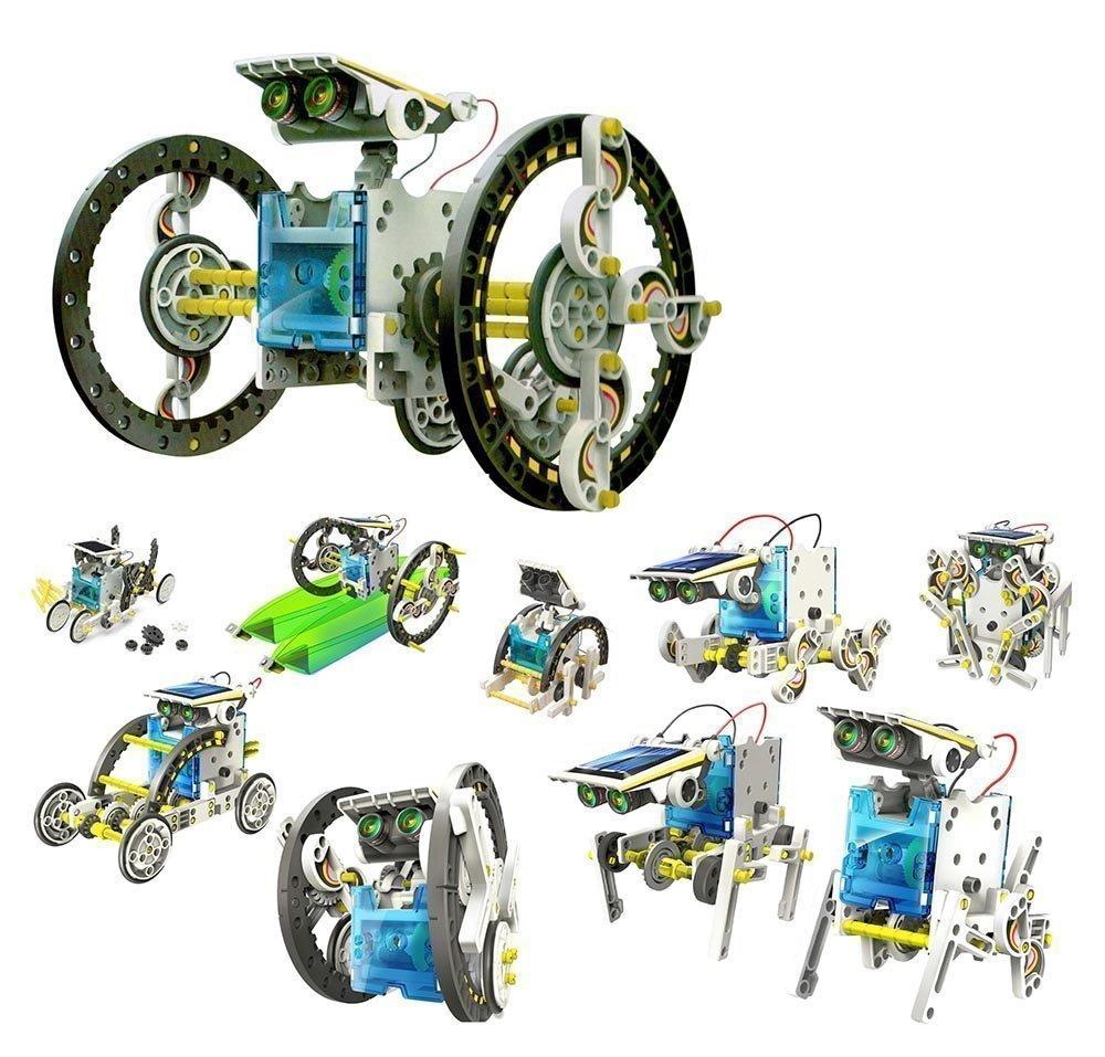 The Source Wholesale 14en 1Kit robot solaire éducatif The Source Wholesale Ltd TS0139
