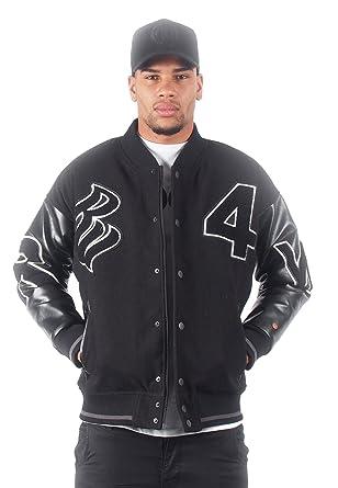 N7031 Rocawear Schwarz Bomberjacke Jacket Herren Black R1708 uJ3KF1cTl