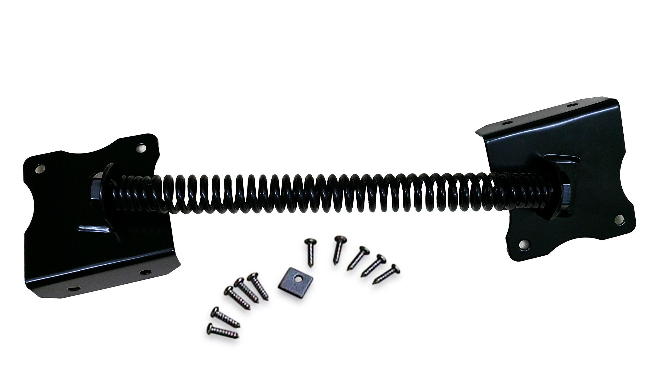 13'' Stainless Steel Gate Spring Adjustable Ornamental self closing gate hardware
