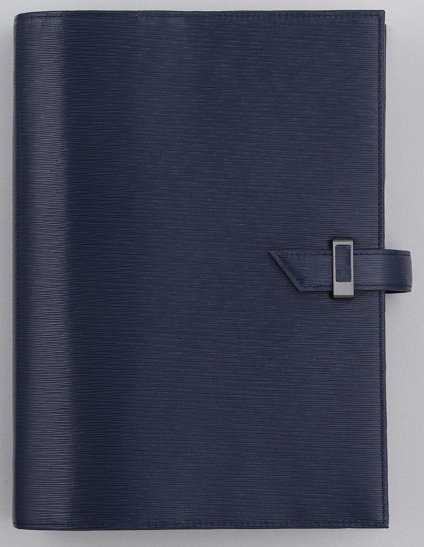 フランクリンプランナー ホースヘアエンボスバインダー ネイビー コンパクトサイズ 25mm 62208   B00OPWU38I