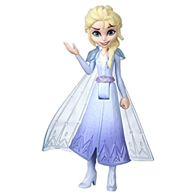 Disney Frozen Elsa Small Doll with Removable Cape Inspired by Frozen 2: Toys & Games