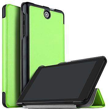 new concept 93966 55030 IVSO Acer Iconia One 8 B1-850 Case Slim Smart Cover Case for Acer Iconia  One 8 B1-850 8 inch Tablet (Black)