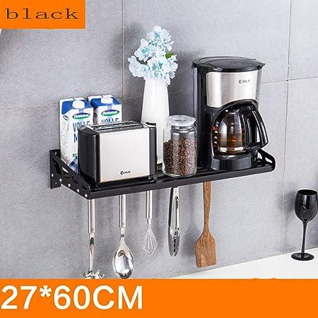 Estante de acero inoxidable para cocina, microondas, horno ...