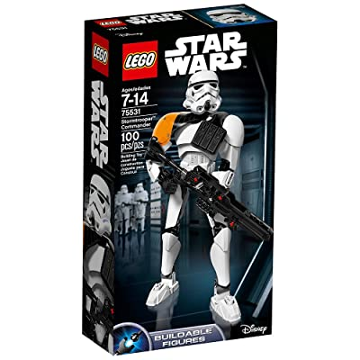 LEGO Star Wars Stormtrooper Commander 75531 Building Kit: Toys & Games
