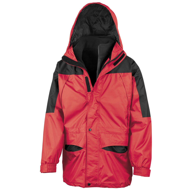 Result Alaska 3-in-1 jacket Red/ Black 2XL
