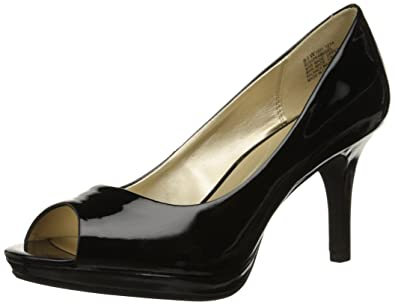 Bandolino Women's Supermodel Synthetic Dress Pump, Black, ...