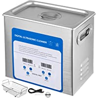 Mophorn 3.2L Professional Ultrasonic Cleaner 320W 304 and 316 Stainless Steel Digital Lab Ultrasonic Cleaner with Heater…