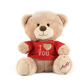 054640c002 Buy Archies ? Soft Toys - Cute Teddy Bear With Red Tshirt ? Cute & Romantic Valentine's  Day Gift - (25 Cm) Online at Low Prices in India - Amazon.in