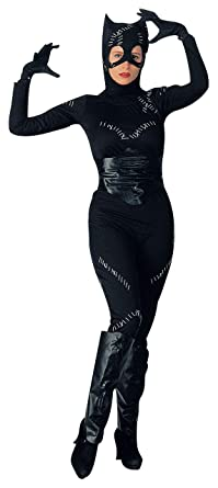 Amazon.com  Adult Catwoman Costume-One size fits women's 9-10  Clothing 2615f7fe5b0c