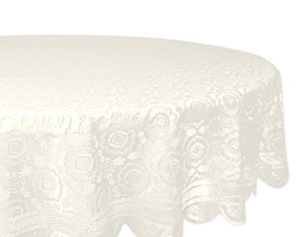 Merveilleux DII Home Essentials 100% Polyester, Machine Washable, Shabby Chic, Vintage  Tablecloth Or