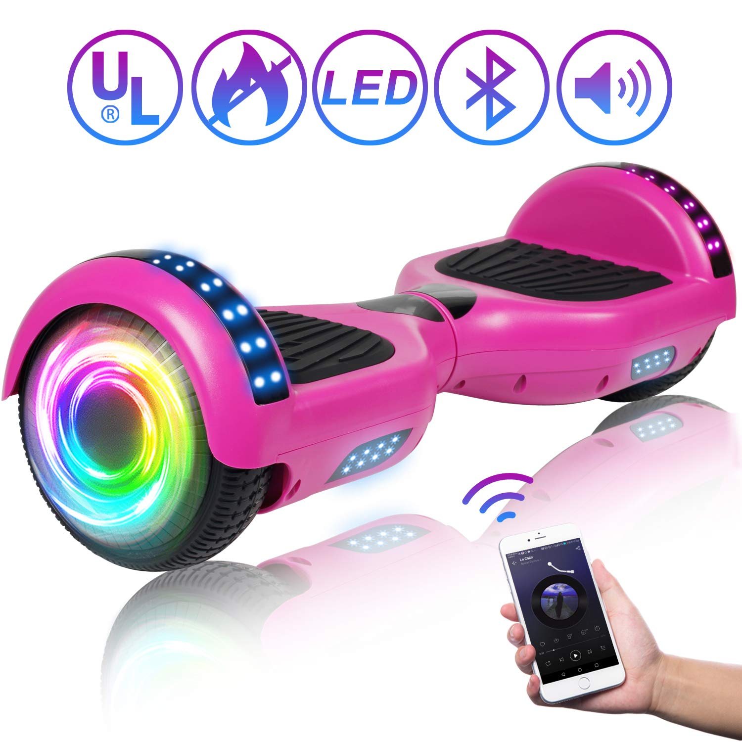 Best SISIGAD Hoverboard Self Balancing Scooter