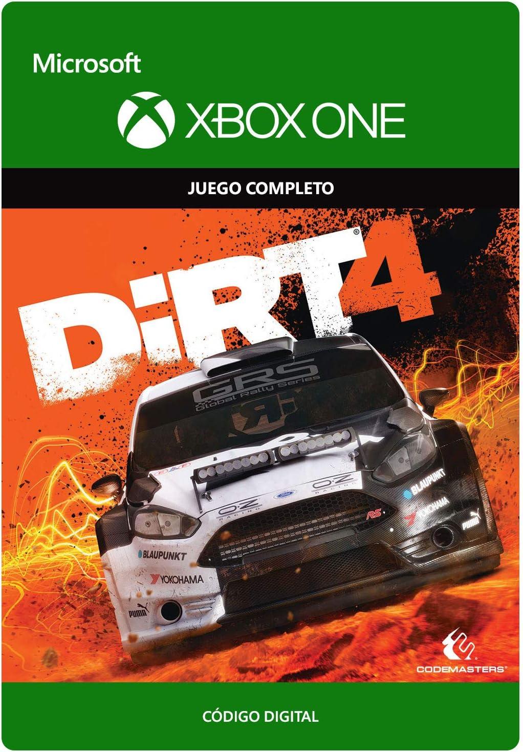 DiRT 4 Standard | Xbox One - Código de descarga: Amazon.es: Videojuegos