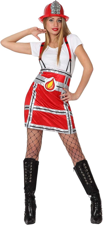 Atosa - Disfraz de bombero para mujer, talla 42 (8422259158110 ...