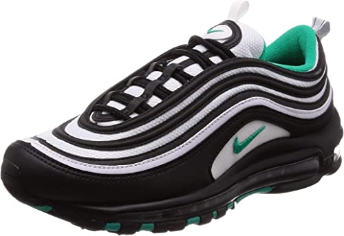 nike air max 97 trainers in nero on man