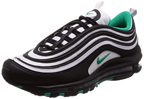 size 40 a0de4 3ca49 Nike Air Max 97 Black Clear Emerald White: Amazon.co.uk ...