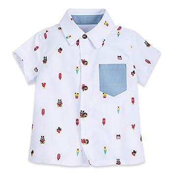 Disney The Mickey Mouse Camiseta para Ni/ños