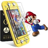 VGUARD [3 Stuks] Beschermfolie Compatibel met Nintendo Switch Lite Screen Protector, Film van Gehard Glas…