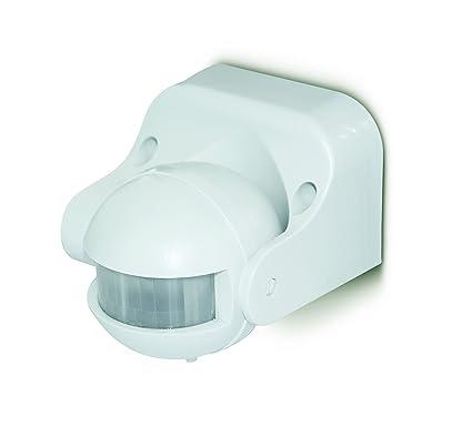 LUCECO LGIP44WTW-01 - Detector de presencia pir blanco para montaje en pared inclinable 180º