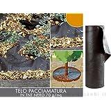 Verdemax 65911,6x 10m tessuto non tessuto pacciamatura–nero