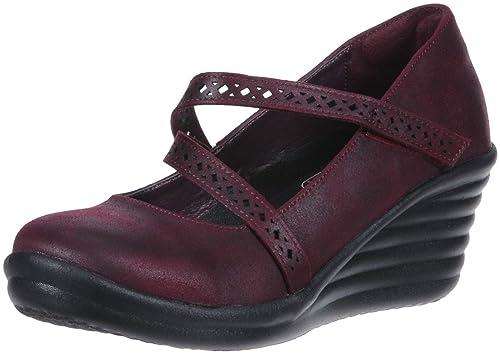 Zapatos para Mujer, Color Negro, Marca SKECHERS, Modelo Zapatos para Mujer SKECHERS Rumbler Wave Filigree Negro: Amazon.es: Zapatos y complementos