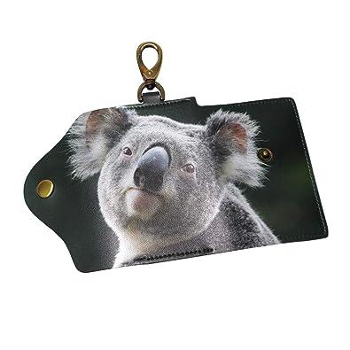 Amazon.com: Koala - Llavero de piel unisex con 6 ganchos y ...
