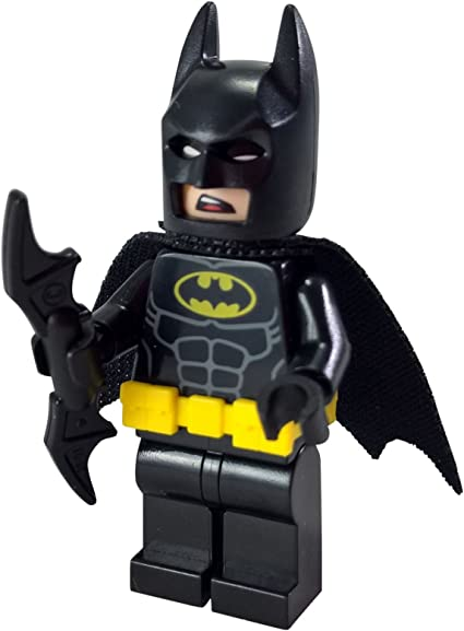 Amazon Com The Lego Batman Movie Minifigure Batman W Utility Belt Set 70909 Toys Games