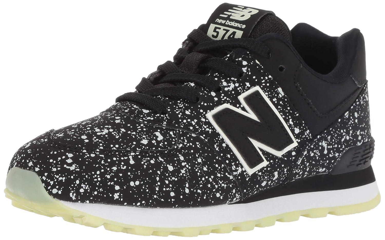 Noir (noir Glo Kb) New Balance 574v2, Baskets Mixte Enfant 28 EU