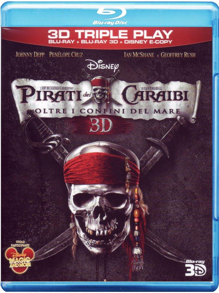 Pirati Dei Caraibi - Oltre I Confini Del Mare (2011) ISO BluRay 3D AVC DTS-HD ENG DD ITA Sub