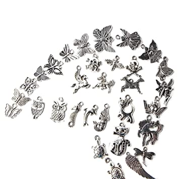 100pcs wholesale retro silver charm tibetan pendants mixed in bulk 100pcs wholesale retro silver charm tibetan pendants mixed in bulk for diy necklace bracelet jewelry making mozeypictures Gallery