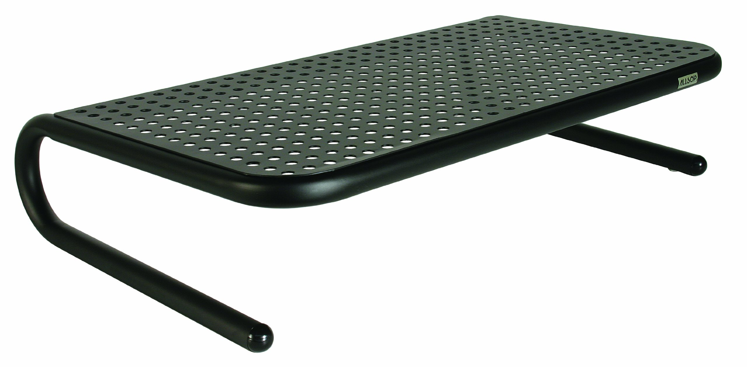 Allsop Large Metal Art Monitor Stand Holds 50 Lbs With Keyboard Storage Space.. 10