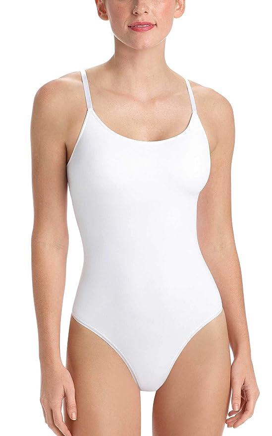 4e4346b45 commando Women s Minimalist Cami Bodysuit with Shelf Bra MN502 at Amazon  Women s Clothing store