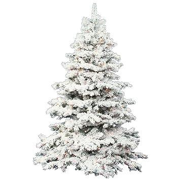 "Image Unavailable. Image not available for. Color: Vickerman 36"" Flocked  Alaskan Pine Artificial Christmas Tree ... - Amazon.com: Vickerman 36"