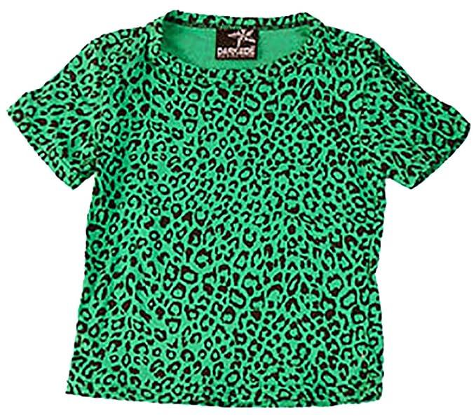 Darkside niños camiseta de verdes leopardo