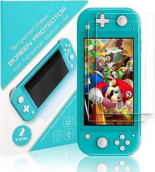 Protector de Pantalla para Nintendo Switch Lite: Amazon.es ...