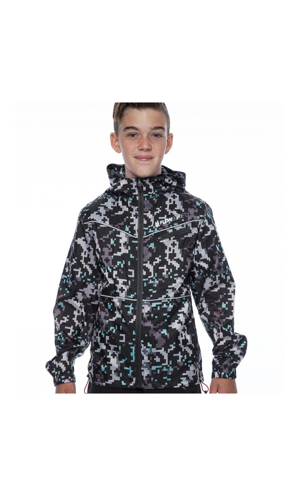 Flow Society Rain Coat Benjamin - Boy - S - Grey