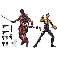 Bonecos Hasbro Marvel Legends Series Deadpool e Negasonic Teenage Warhead - E9288