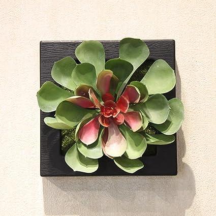 Círculo Círculo 3d flores artificiales en macetas con forma ...