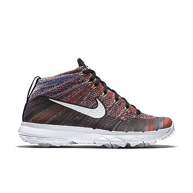 e71cf07afce5 Nike Women s s WMNS Nk Flyknit Chukka Golf Shoes  Amazon.co.uk ...