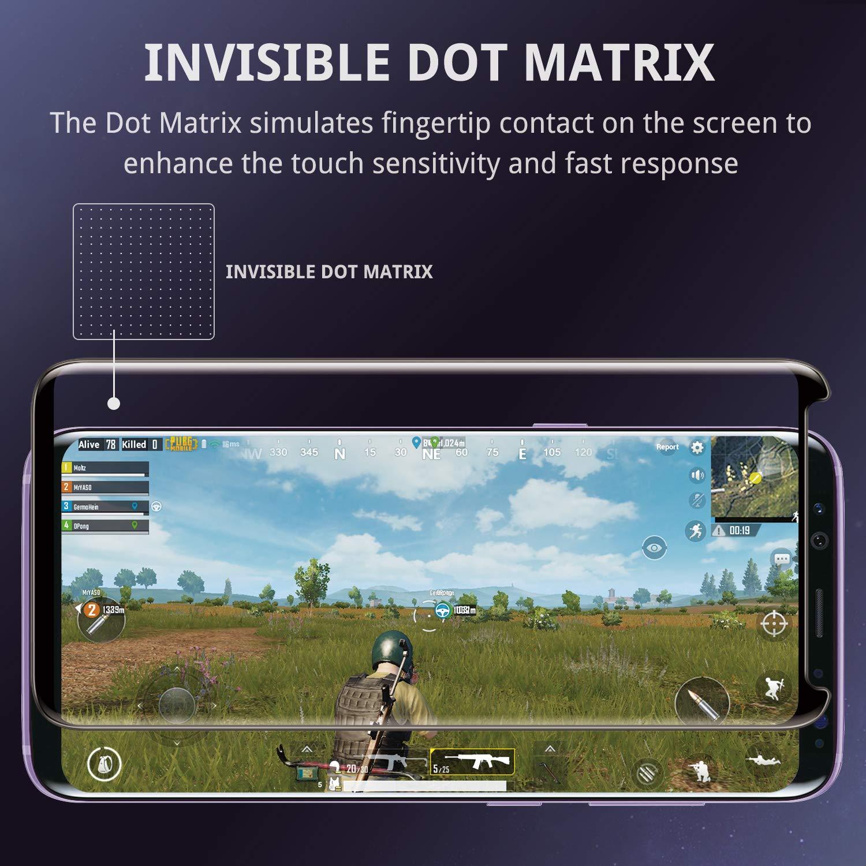 UNBREAKcable Panzerglas Schutzfolie f/ür Samsung Galaxy S9-3D gebogen 9H H/ärte,Anti-Bl/äschen,Anti-Kratzen,Ultra-D/ünner HD,Premium Panzerglasfolie Displayschutzfolie f/ür Samsung Galaxy S9-1 St/ück