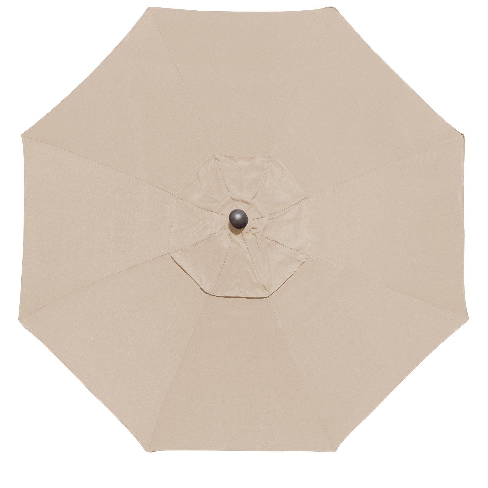 Eliteshade 9ft Patio Umbrella Market Table Outdoor Umbrella