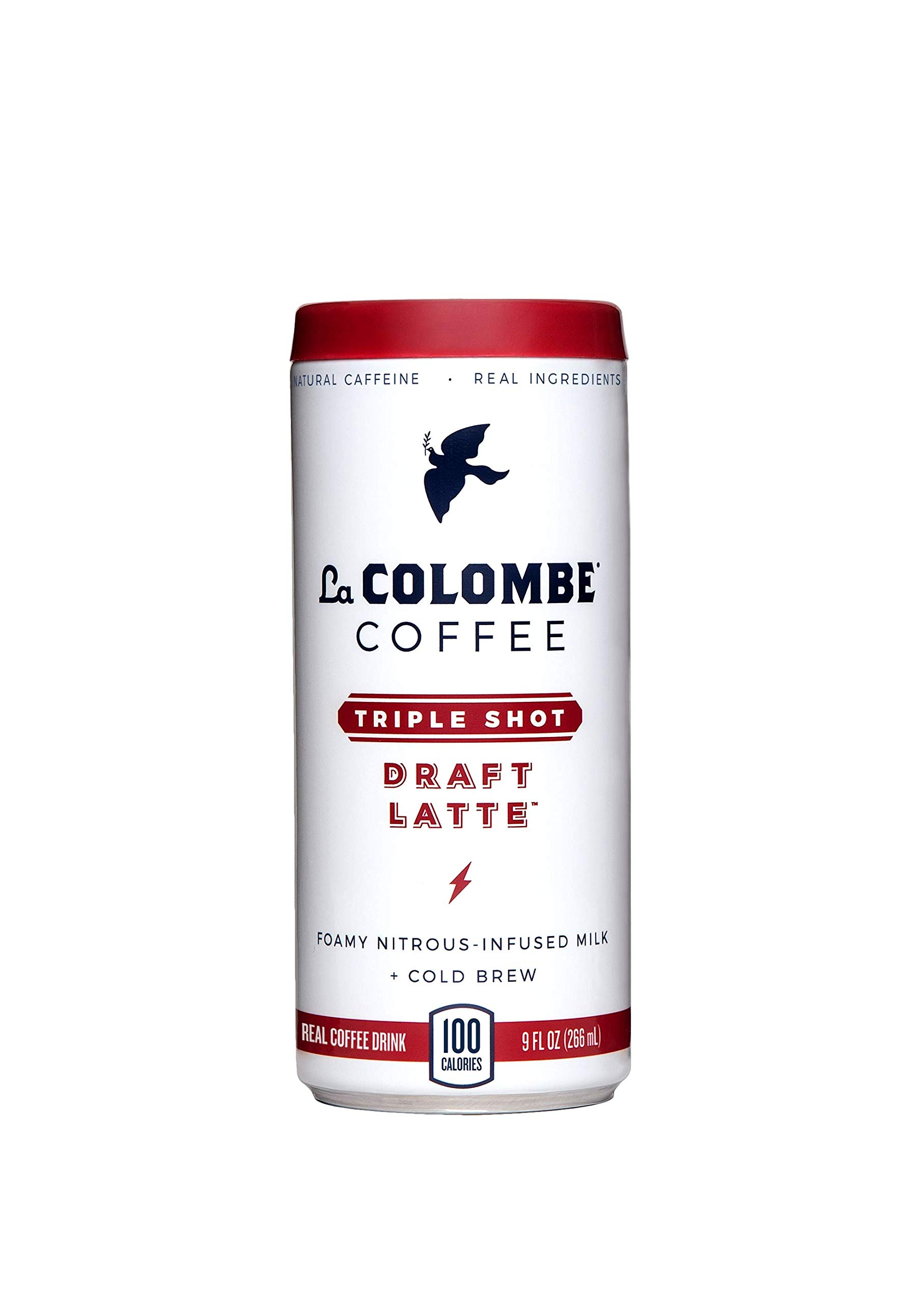 La Colombe Triple Draft Latte - 9 Fluid Ounce, 16 Count - 3 Shots Of Cold-Pressed Espresso and Frothed Milk - Made With Real Ingredients - Grab And Go Coffee by La Colombe